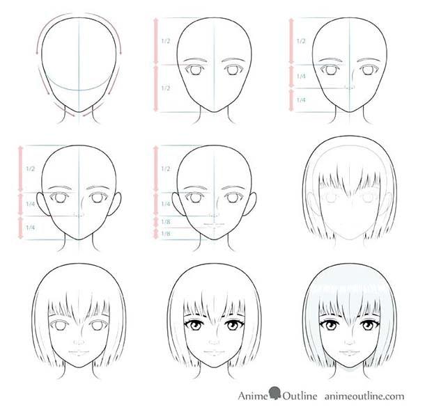 Como Desenhar Animes Passo A Passo Desenhista Ninja